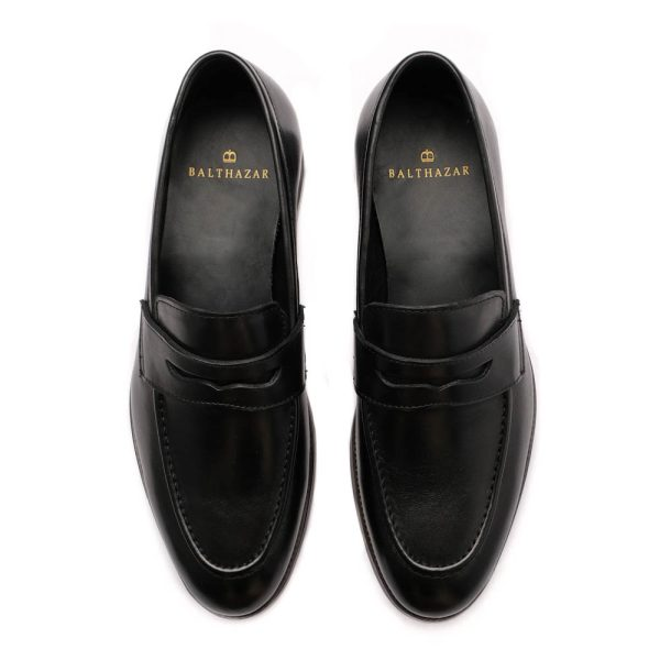 Henry Loafers Black Top