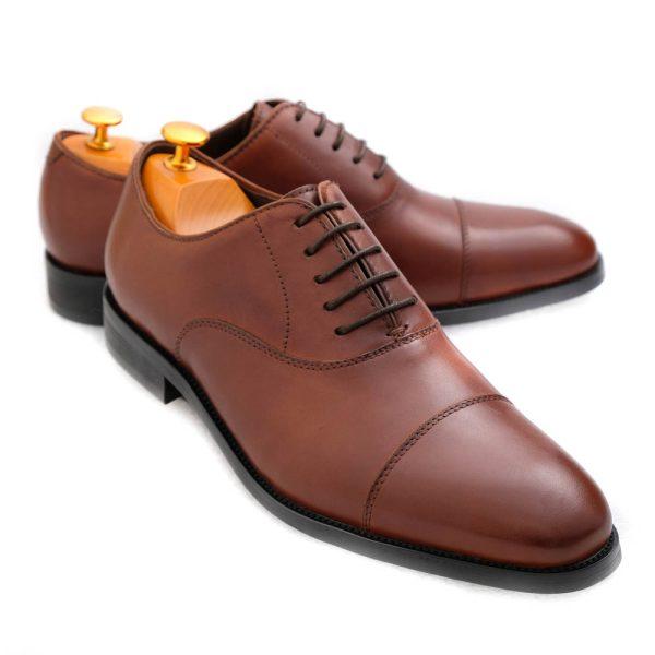 Oxfor Shoes Medium Brown 1