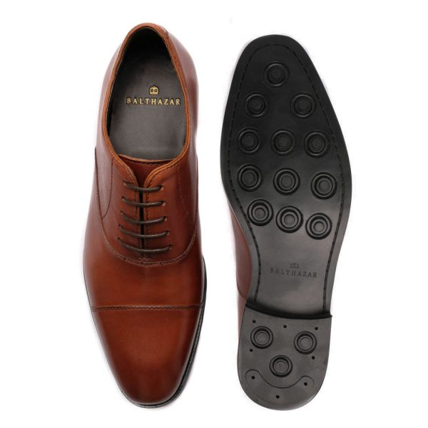 Oxfor Shoes Medium Brown 2