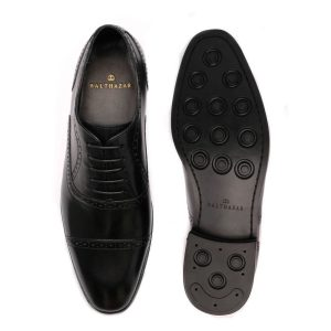 Semi Brogue Black 2