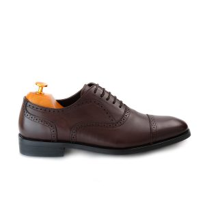 Semi Brogue Brown Side