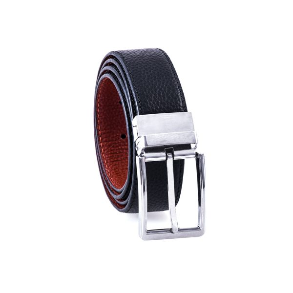 Silver Medium Brown Belt 2