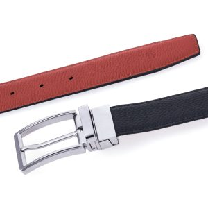 Silver Medium Brown Belt 3