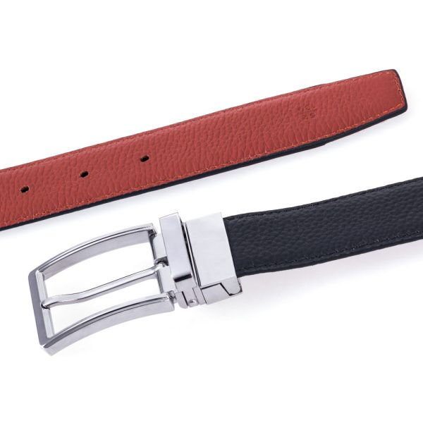Silver Medium Brown Belt 3