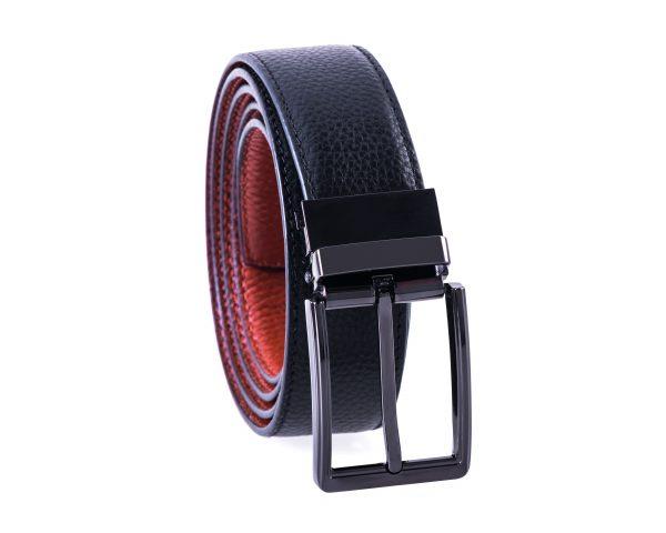 Grey Gun Belt Medium Brown 3