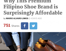 Esquire Article Affordable Filipino Shoe Brand