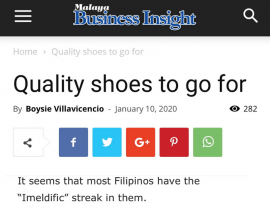 Malaya Quality Shoes To Go For