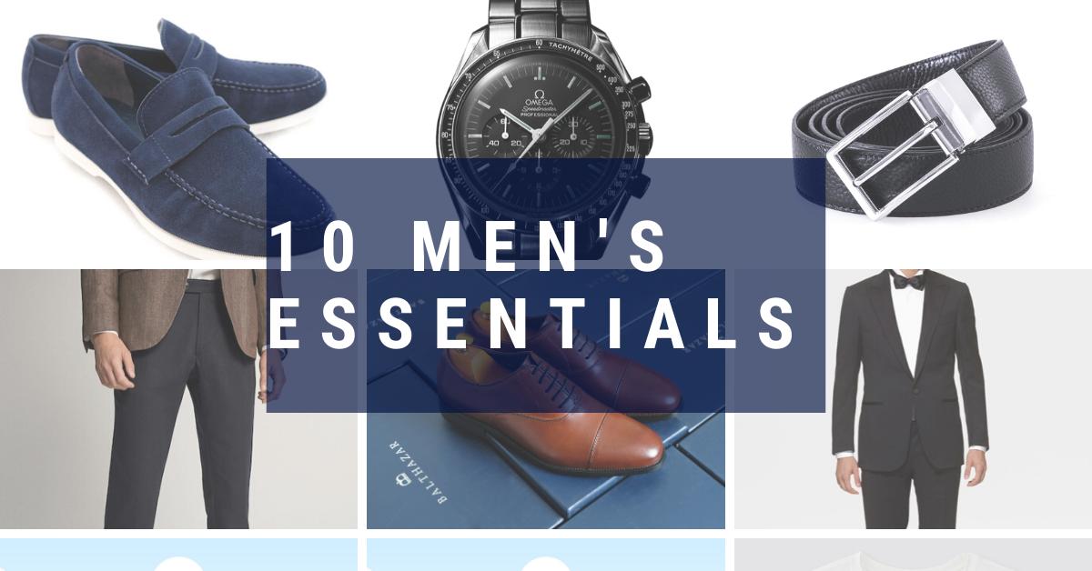 10 men's essentials 1